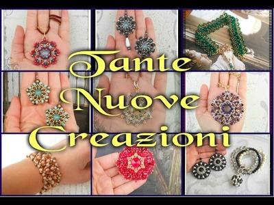 Video Creazioni Mix3 - Gioielli handmade by BURZY - orecchini bracciali anelli perline DIY