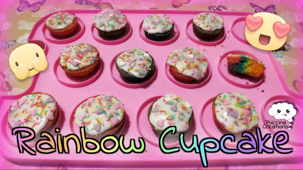 In Cucina con Puccina: ricetta Rainbow Cupcake (cooking.food.dessert) | PuccinaCreations