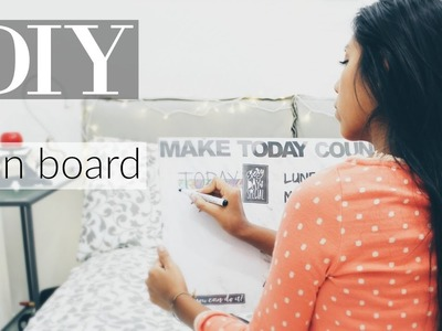 DIY plan board | ITA