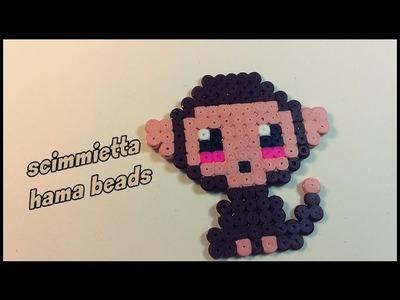 Monkey scimmietta hama beads ||kamipucca||