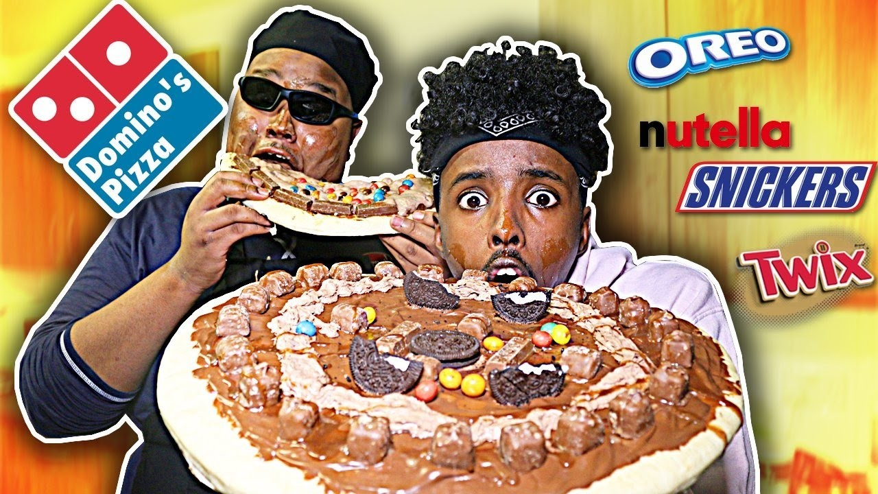 DIY GIANT CHOCOLATE PIZZA