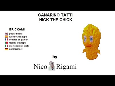 "Tutorial Tatti chick by Nico Rigami no glue ""brickami"""