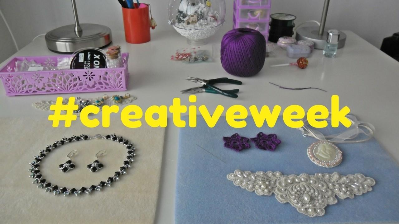 NUOVA RUBRICA! - #creativeweek n°1: embroidery, tessitura e uncinetto