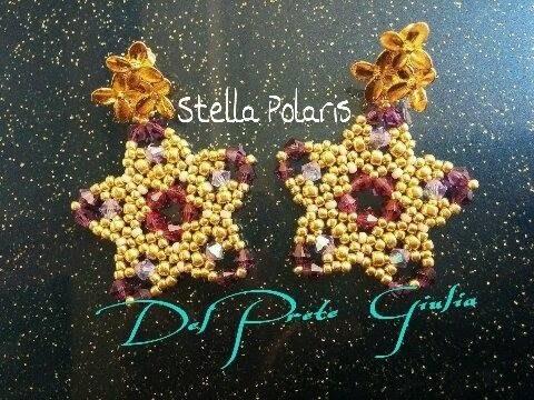 DIY Tutorial Orecchini Stella Polaris | MissGiuliaa❤ | raw