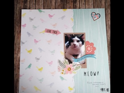 Scrapbooking Process Video: Meow! #Crea il tuo kit con Angela e Giorgia