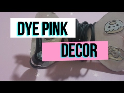 DIY PINK DECOR