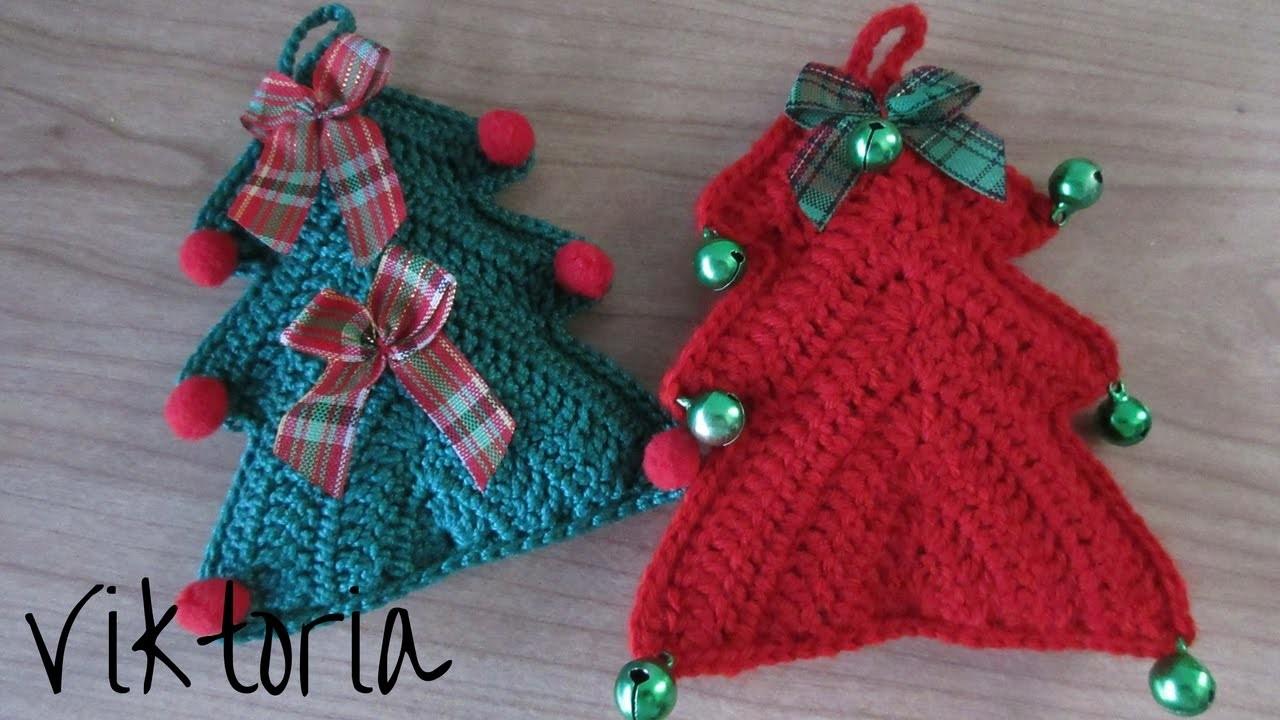 Alberello di natale alluncinetto decorazione alluncinetto for Addobbi natalizi all uncinetto