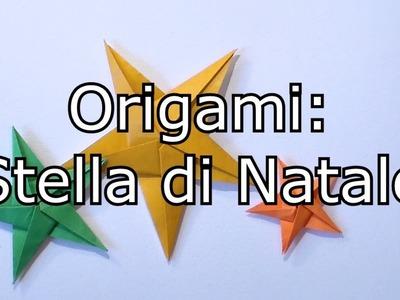 Origami: Stella di Natale