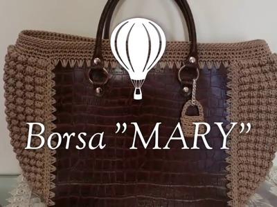 "Borsa ""Mary"".Crochet Bag.borsa uncinetto.Mary Bag"
