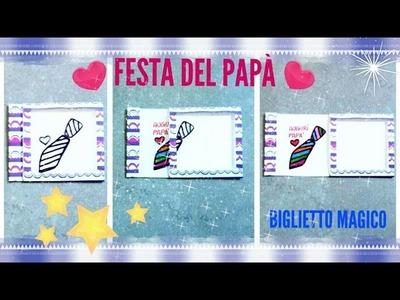 DIY Biglietto magico | Magic greeting card