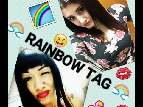 ????RAINBOW TAG!.collab. LA INDIA 76 ????