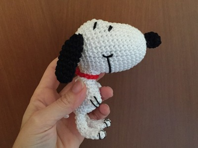 Snoopy Amigurumi (tutorial)