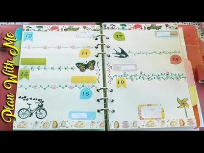 PLAN WITH ME #2 con tutorial per disegnare i divider di pagina