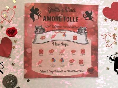 DIY Gratta&Vinci dell'AMORE | idea San Valentino