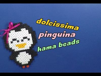 Dolcissima pinguina hama beads ||kamipucca||
