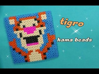 Tigro (winnie the pooh)  hama beads-pyssla ||kamipucca||