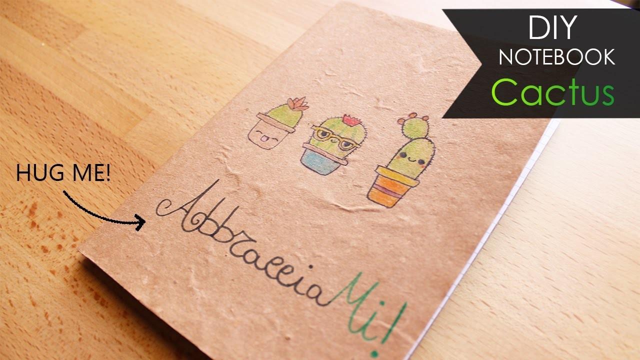 DIY Notebook ???? Cactus
