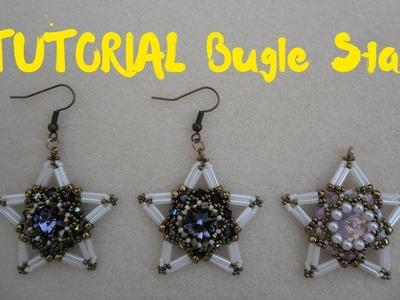 DIY - TUTORIAL Bugle Star | modulo per orecchini e ciondolo