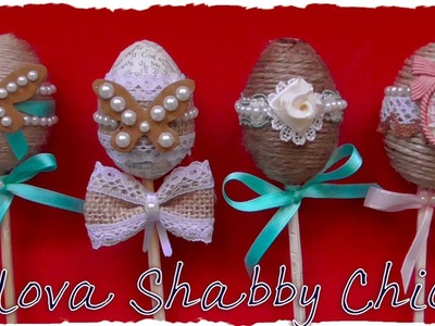 Tutorial: Decorazioni Pasquali Shabby Chic | DIY Easter Decoration