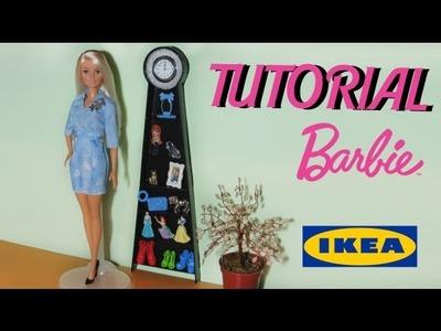 TUTORIAL: Libreria - Orologio IKEA in miniatura per Barbie o altre bambole