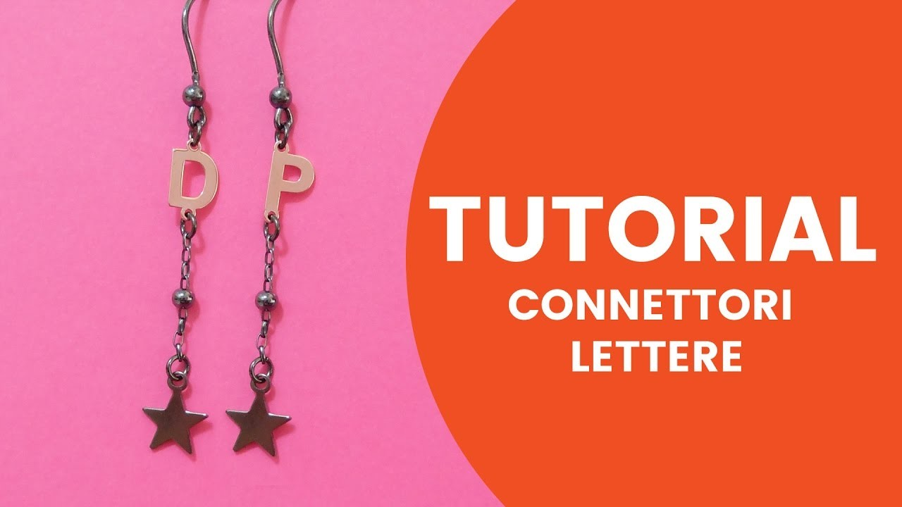Video Tutorial Dooitu DIY | Connettori Lettere Argento 925