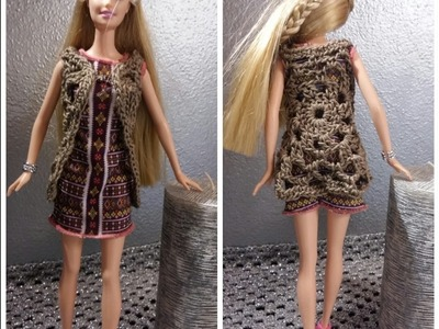 SPOLVERINO PER BARBIE TUTORIAL UNCINETTO - CROCHET