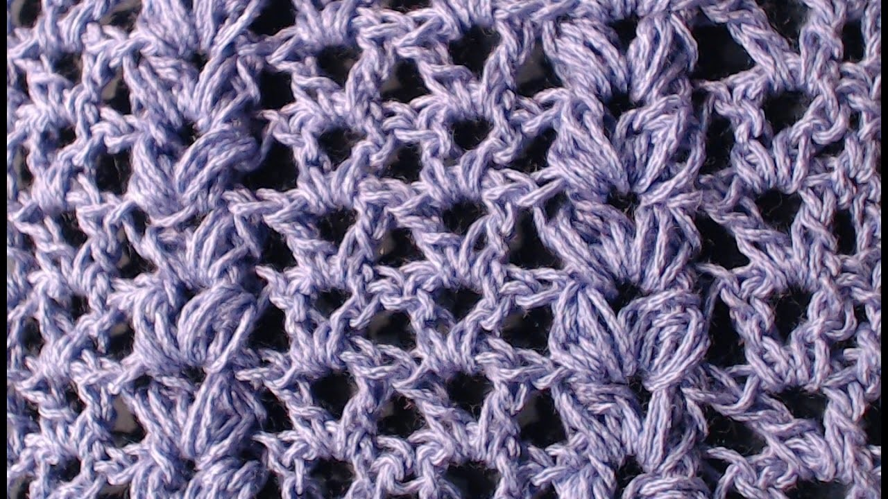 Tutorial N 3 Punto Fantasia Uncinetto Crochet