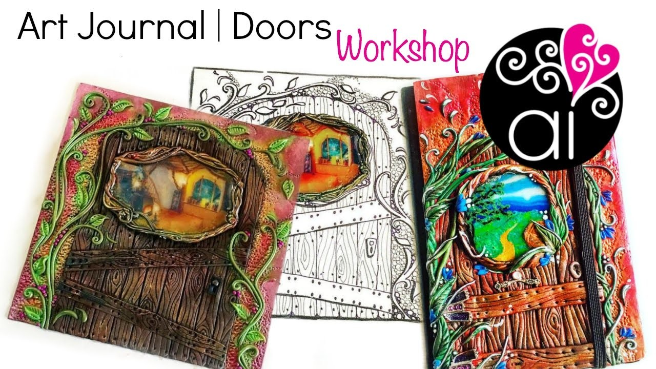 Art Journal Workshop | Corso Paste Polimeriche a Roma | Polymer Clay Masterclass