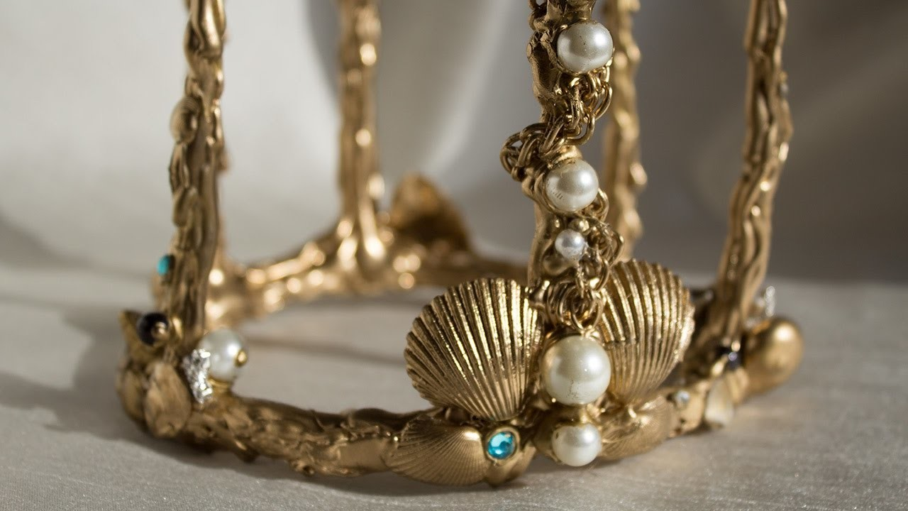 CORONA SIRENA - Mermaid Crowns - DIY for Cosplays
