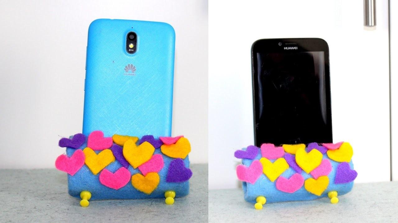 Diy tutorial come fare un porta cellulare fai da te how to make a cell phone holder diy my crafts - Porta cd fai da te ...