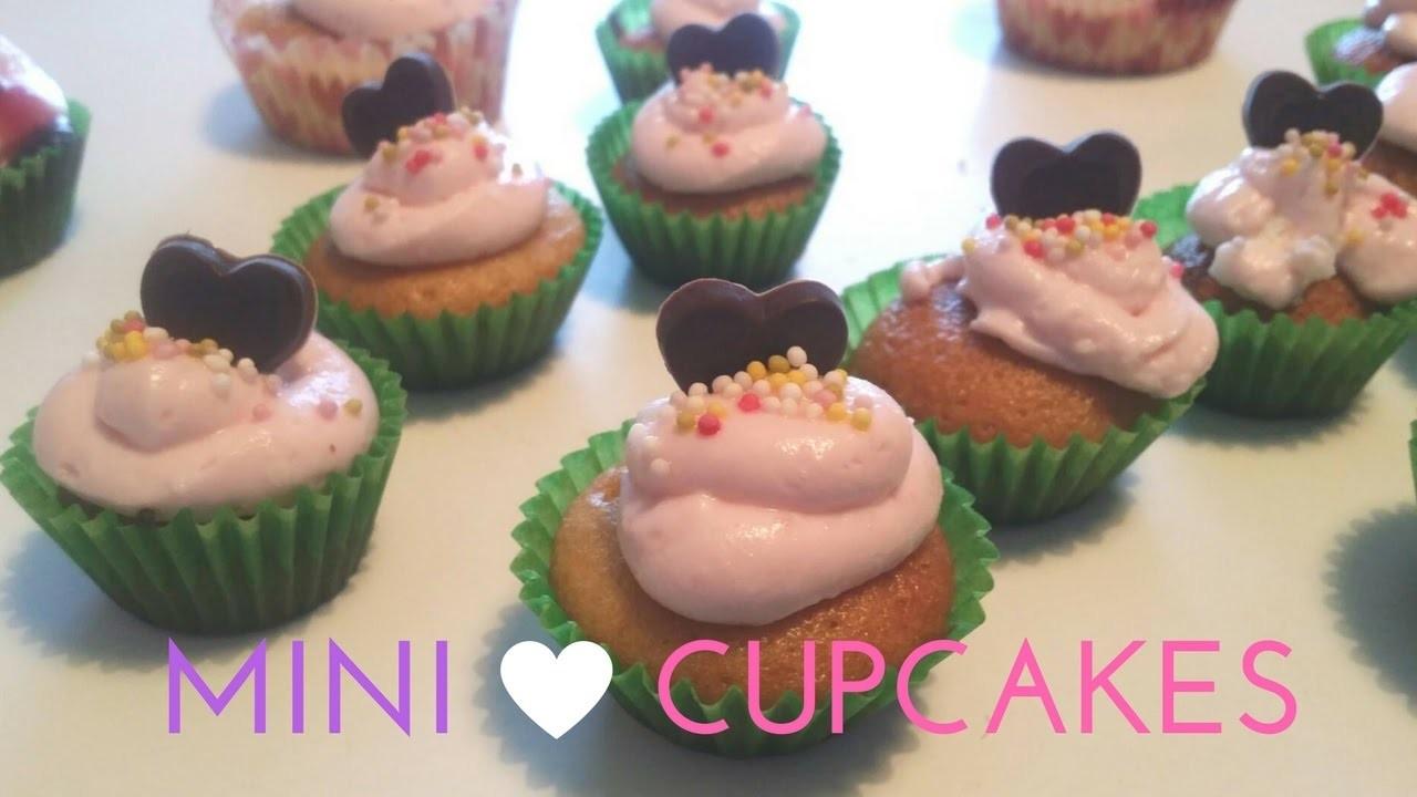 How to Make Mini Cupcakes ????????