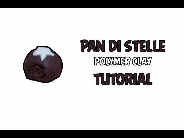 PAN DI STELLE-polimer clay tutorial