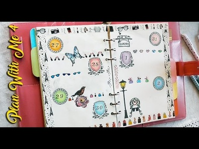 PLAN WITH ME #4 tutorial clear stamps e disegnare divider di pagina