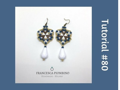 TUTORIAL PERLINE [80] - Orecchini Toxic: ava beads, kheops par Puca, superduo, cipollotti 4x3mm.