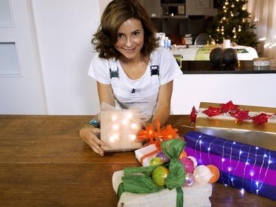 5 idee luminose per i vostri pacchetti regalo di Natale fai da te
