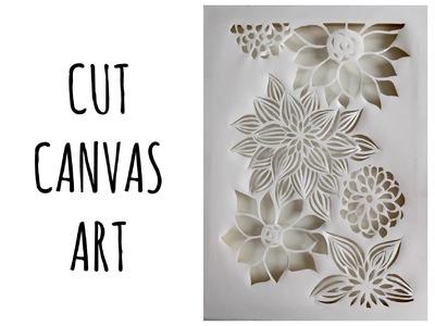 Cut Canvas Art: cos'è e come si fa!!! (Creatività-tecniche artistiche) Arte per Te