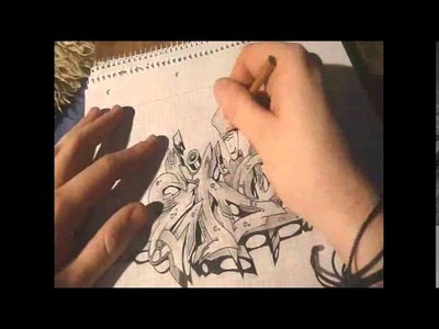 Graffiti Art Tutorial on Paper